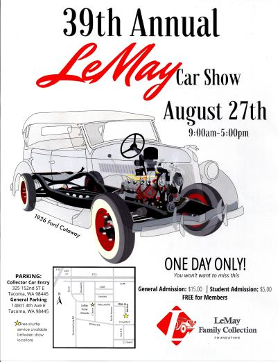 LeMay Cars Sow 2016